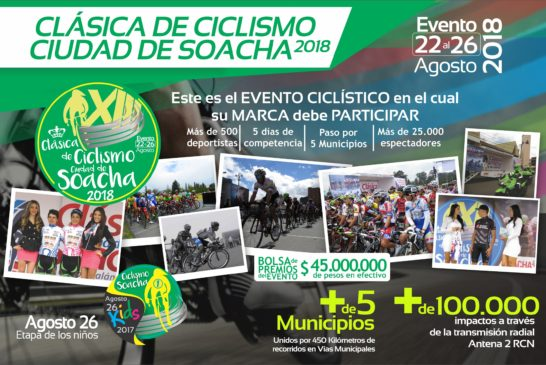 XIII Clásica de Ciclismo Soacha 2018