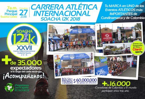 "XXVII Carrera Atlética Internacional ""Soacha12K"""